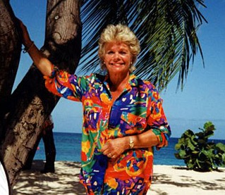 Wish You Were Here? Was a TV holiday show which ran from 1974 to 2003 for anyone under 40 who doesn't know Judith Chalmers!