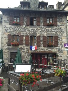 Laguiole - the Alpine influence is beginning to kick in