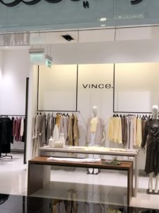 Vince clothing store!