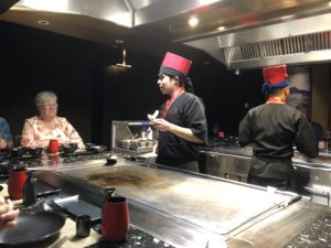 Our Teppanyaki wizard