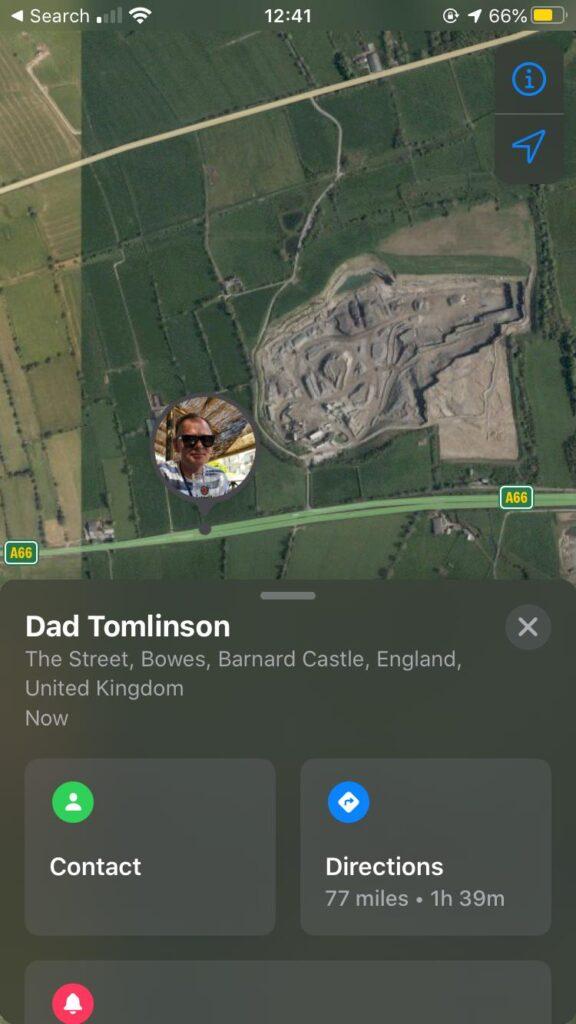 Find my... Dad