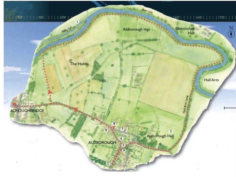 Roman Ramble Route