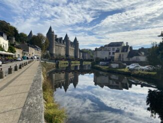 The chateau at Josselin